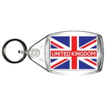 keyring double sided uk, united kingdom country flag design, keychain