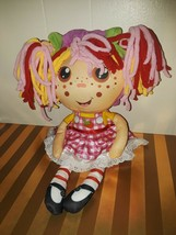 BARELY USED Flip Zee Girls Zana Very Berry Strawberry 2-in-1 Plush Doll - $9.99