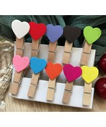 colorful heart Photo Clip,Special Gift for Children's Party favor Decora... - $3.90+