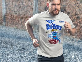 Boo Berry Dri Fit graphic T-shirt moisture wicking monster cereal retro SPF tee image 3