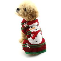 NACOCO Dog Snow Sweaters Snowman Sweaters Xmas Dog Holiday Sweaters New ... - $14.84