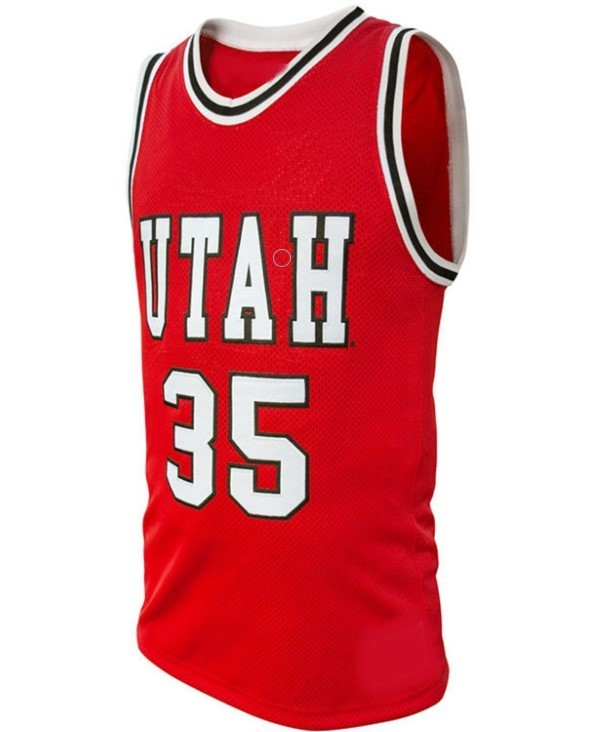Kyle kuzma college basketball jersey red   1