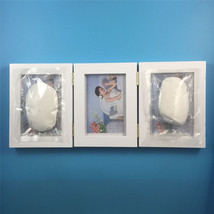 New Baby Foot or Hand Print Cast Set Kit Birth memory Gift Photo Frame tr - $21.99