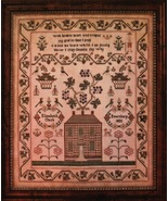 Elizabeth Clark cross stitch chart Country Stitches With Thy Needle  - $16.20