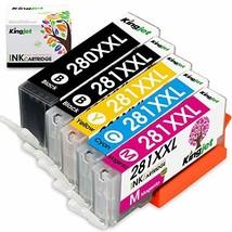 Kingjet Compatible Replacements for PGI-280 CLI-281, PGI-280XL CLI-281XL... - $44.28