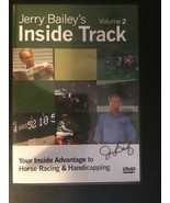 Jerry Bailey's Inside Track Volume 2 DVD, Horse Racing Handicapping, Goo... - $17.86
