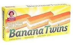 Little Debbie Banana Twins Cakes 11 Oz (2 Boxes) - $18.25