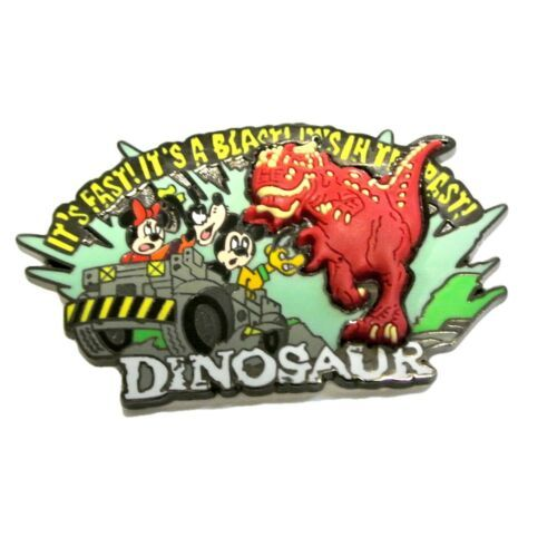 Primary image for Disney WDW Fab 4 Fast DINOSAUR It's A Blast In The Past MICKEY Minnie pin