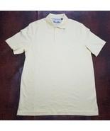 Tasso Elba AB Men's Shirt  Signature Interlock Short Sleeve Lemon Butter... - $15.61