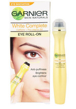 2 x Garnier White Brightening Eye Roll on For Dark Circles Puffiness Under Eyes  - $15.34