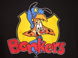 Vintage Bonkers D. Bobcat Walt Disney 90s Black T-Shirt Sz Xl Rare And Htf - $93.95