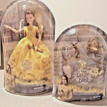 2017 Disney Beauty& the Beast Belle Doll & Castle Friends Lot Live Actio... - $37.99