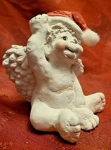 Dreamsicles 1993 Santas Little Helper Figurine Cast Art Signed Kristin image 4