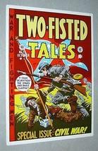 Vintage original 1970's EC Comics Two-Fisted Tales 35 Civil War cover art poster - $29.99