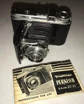 Voigtlander Perkeo II Medium Format Folding Camera Color-Skopar 1:3.5/80... - $144.95