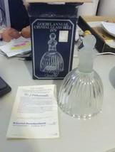 1979 Goebel Hummel Crystal Glass Bell W Germany - Little General - $9.15