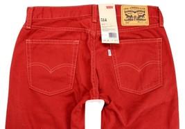 Levi's Strauss 514 Men's Original Slim Fit Straight Leg Jeans 514-0445