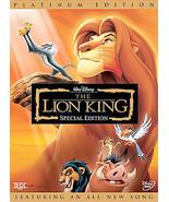 The Lion King (DVD) Double Disc Set - $4.98