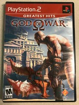 "God of War (PlayStation 2, 2006) PS2 Game ""Greatest Hits"" - $6.99"