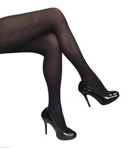 Sock Snob Semi Opaque Ribbed Designer Tights One size 8-14 uk, 36-42 eur... - $7.77