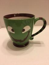 Starbucks Halloween Green /Brown Two Eyed Monster Cup/Mug 2007 - $28.04
