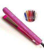Diamond Hair Straightener,Ceramic Electric Splint MCH Negative Ion Curle... - $93.49