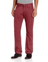 NEW LEVI'S STRAUSS 514 MEN'S ORIGINAL SLIM STRAIGHT LEG JEANS PANTS RED 514-0530