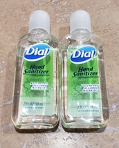 Dial 2X Hand Sanitizer 2oz Bottle Hand Gel Sanitizers no soap need Ship from USA