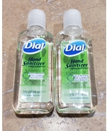 Dial 2X Hand Sanitizer 2oz Bottle Hand Gel Sanitizers no soap need Ship ... - $6.29