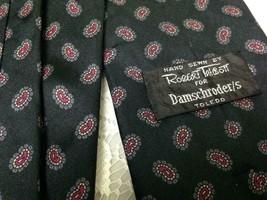 Beautiful, Robert Talbott, Black-Red Paisley Silk Neck Tie - $11.35