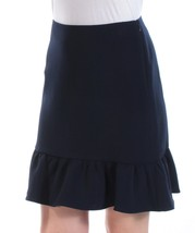 Tommy Hilfiger Ruffled Fit & Flare Skirt NAVY BLUE - £12.17 GBP+