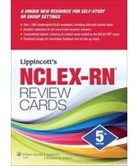 Lippincott's NCLEX-RN Review Cards by Lippincott Williams & Wilkins (Eng... - $34.62