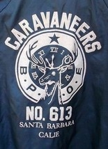 Vintage Caravaneers No.613 Santa Barbara, Calif. B.P.O.E. Elk Lodge Wind... - $10.00