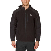 Reebok Men's Mixed Media Softshell Jacket , Black, Size XL, - $22.76