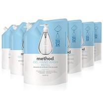 Method Gel Hand Soap Refill, Sweet Water, 34 Ounce Pack 6 - $31.18