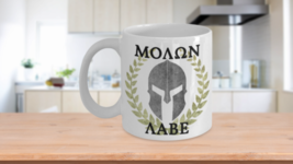 NRA Coffee Mug Gifts Molon Labe Spartan Wreath Grunge 2nd Amendment Bear... - $15.63+