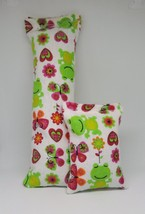 100% CatNip Filled Cat Pillow Toy Bundle Frogs Flowers Hearts - $11.99