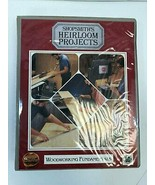 Shopsmith's Heirloom Projects: Woodworking Fundamentals VHS & Manual Set... - $22.27
