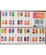 Frozen Treats Scratch and Sniff - (USPS)  FOREVER STAMPS 20 stamps - $19.95
