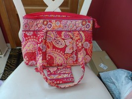 Vera Bradley large Betsy handbag and coin purse in Raspberry Fizz - $36.00