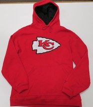 Kansas City Chiefs Hoodie Reebok Mens Medium Red Pullover Sweatshirt Sewn - €20,37 EUR