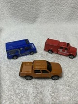 maisto cars, Fire Rescue, Ford Pick Up , Plumbing Truck - $9.89
