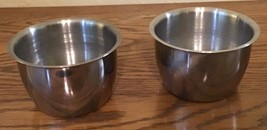 Vintage Stainless Steel Small Mixing Bowls - $4.95