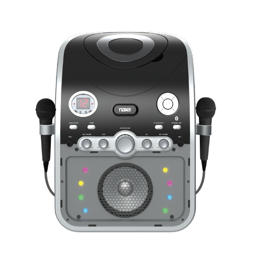 NAXA NKM-100 Bluetooth(R) Karaoke System electronic consumer