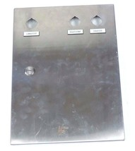 EUROBEX 5400 ESS PANEL BOX ENCLOSURE WITH BACK PLATE image 1