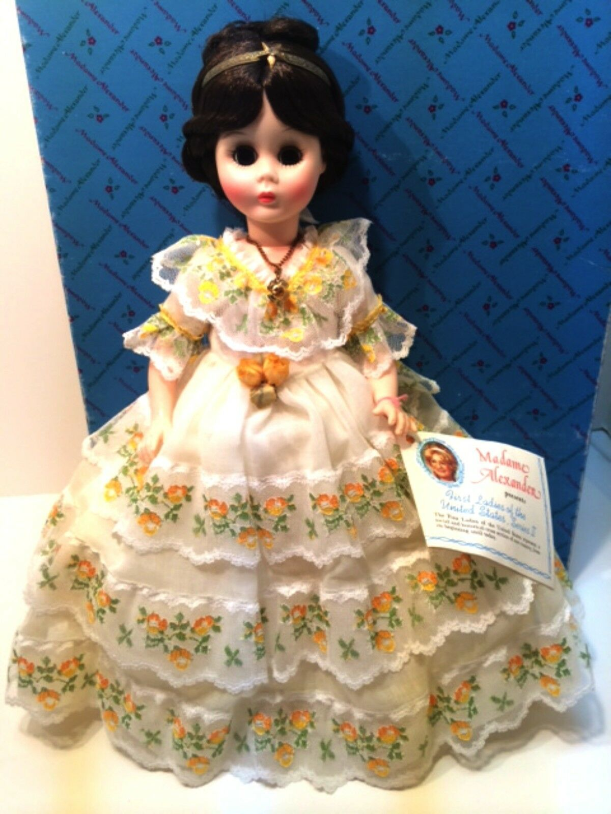 Primary image for Madame Alexander First Lady Doll Collection Series II Julia Tyler 14 inch Tall