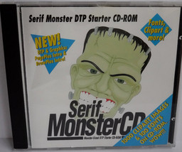 Serif Monster Desktop Publishing Starter CD-ROM, Windows 3.1, 1995 - $4.95