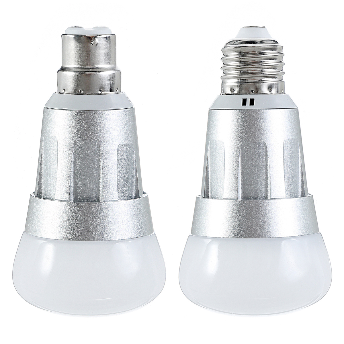 E27 B22 7W RGB+W WiFi APP Smart LED Light Bulb Work With Echo Alexa Google Home