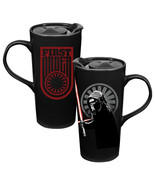 Star Wars The Force Awakens Kylo Ren Heat Reactive 20 oz Ceramic Mug NEW UNUSED - $14.48