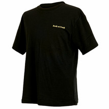 SMALL BACK ON TRACK UNISEX SHORT SLEEVE THERAPUTIC SHIRT BLACK U--001 - $48.95
